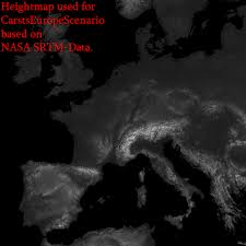 netherlands height map europe 1 200 scale in minecraft project link