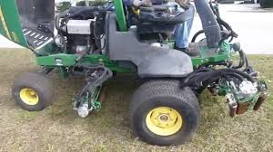 2008 john deere 7500 fairway mower w 2398 hours w yanmar 3tnv84t