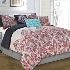 Black And White Paisley Comforter Buy Red Comforters From Bed Bath U0026 Beyond