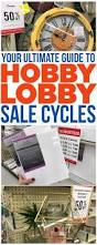how to know when every item at hobby lobby goes on sale the
