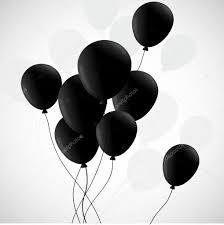 black balloons black balloons on white background stock vector teirin toys