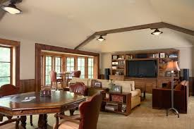 octagon dining table room contemporary with lots of windows