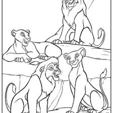 lion family coloring kids drawing coloring pages marisa