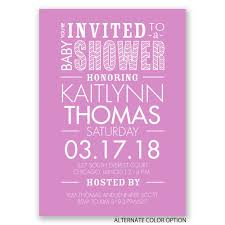 100 purple baby shower invites making great tea party baby