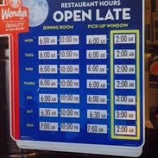 wendy s fast food 6020 bullard ave read blvd east new