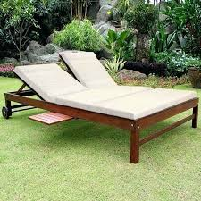double outdoor lounge chair u2013 peerpower co