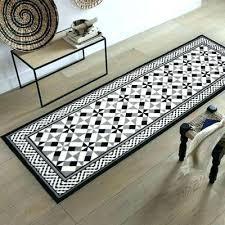 tapis de cuisine tapis cuisine noir beija flor tapis vinyl tapis de cuisine noir et