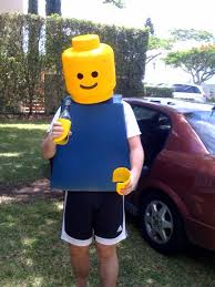 Lego Brick Halloween Costume Minute Halloween Costume Ideas