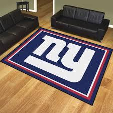 nfl new york giants 8 u0027x10 u0027 rug contemporary novelty rugs by
