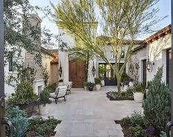 Home Courtyard European Garden Retreat Calvis Wyant Custom Homes Scottsdale Az