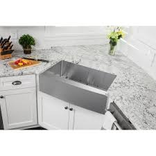 Stainless Steel Farm Sink Sinks Oversize Rectangle Stainless Steel Apron Front Single Bowl