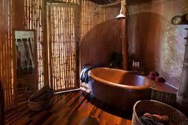 bambus badezimmer magische häuser aus bambus holz auf bali