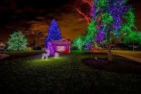 holiday light display village of rosemont