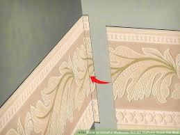 Chair Rail Wallpaper Border - 4 ways to install a wallpaper border halfway down the wall