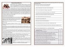a timeline of international women u0027s day reading comprehension