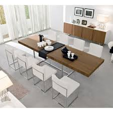 White Leather Dining Chairs Dining Room Comely Ideas For Dining Room Decoration Using