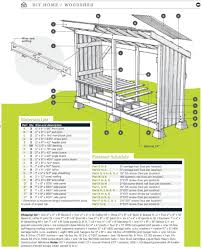 Plans To Build A Wood Shed by Firewood Shed Plans