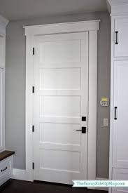 Shaker Door Style Kitchen Cabinets Best 20 Shaker Trim Ideas On Pinterest Interior Door Trim