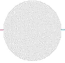 printable hard maze games hard maze games to print mazes to print hard oval circle mazes
