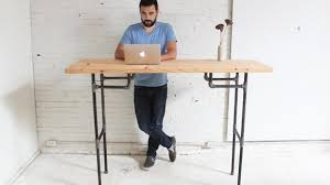 homemade modern ep74 standing desk intended for incredible house