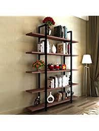 5 Foot Wide Bookcase Bookcases Amazon Com