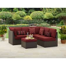 Straight Sectional Sofas Better Homes And Gardens Rush Valley 3 Piece Outdoor Sectional