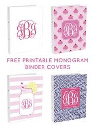 Monogrammed Scrapbook Back 2 Project Monogrammed Notebooks Make Your Own Just