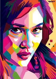 tutorial wpap photoshop 7 wpap art portrait illustrations tutorials inspiration graphic