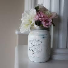 Mason Jar Vases Wedding Best White Mason Jar Vase Products On Wanelo