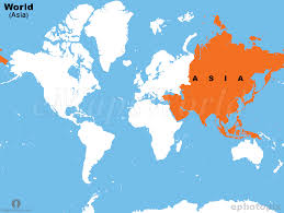 map world asia map world asia major tourist attractions maps