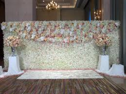 wedding backdrop themes stunning and the says i do floral wall