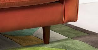 breites sofa breites 2 sitzer sofa samt in rostorange made