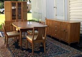 mid century modern dining room furniture modern walnut dining room set brass lantern antiques