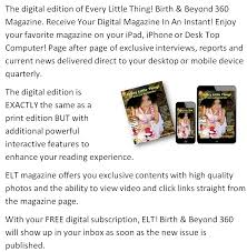 Desktop Or Desk Top Subscribe U2014 Every Little Thing Birth And Beyond 360 Magazine
