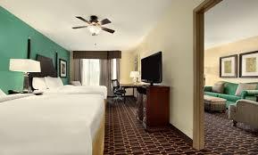 Bed And Living Homewood Suites Hotel In Shreveport Bossier City La