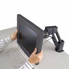 Mx Desk Mount Lcd Arm 1 Computer Monitor Desk Mounts Ebay