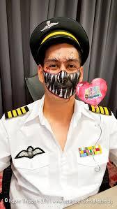Halloween Makeup Beard by Halloween Scary Face Painting Singapore Jpg