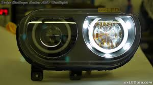 Custom Purchasing Exledusa Dodge Challenger Custom Led Headlights Youtube