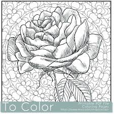 cool coloring pages adults printable flower coloring pages for adults coloring pages to print