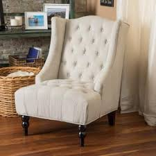 High Back Accent Chair High Back Accent Chairs Living Room Chairs Shop The Best Deals