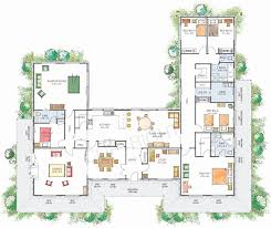 u shaped floor plans with courtyard u shaped home design 10 lovely u shaped house plans bibserver org