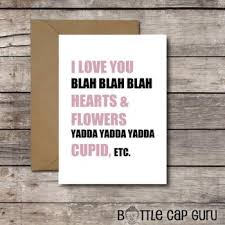 sarcastic valentines day cards s day cards printables for him or