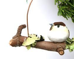 diy woodland bird ornament christmasornaments