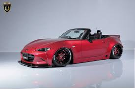 mazda mx5 aimgain widebody kit ruins the new mazda mx 5 in a good way