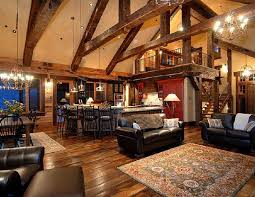 open floor plans with loft rustic house plans with loft homes zone