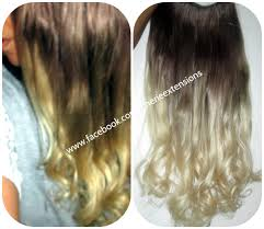 invisible hair ombre balayage human invisible hair extensions flip in wire