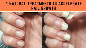 4 natural treatments to accelerate nail growth youtube