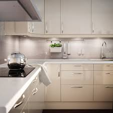 ikea high gloss kitchen cabinet doors faktum kitchen with abstrakt yellow white high gloss doors drawers