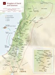 Map Of Syria And Israel by Map Kingdom Of David Kingdom Of Solomon Nwt