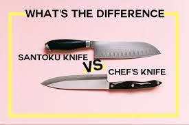 Used Kitchen Knives What U0027s The Difference Between A Chef U0027s Knife And A Santoku Knife